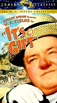 It S A Gift Vhs W C Fields Kathleen Howard Jean Rouverol Julian Madison Tommy Bupp Baby Leroy Tammany Funny Movies Comedy Great Comedies