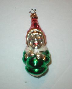 Christmas Glass Ornament Joey Clown by RemindersOfThePast on Etsy, $18.00