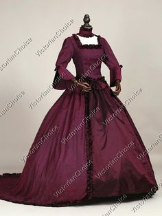 Renaissance Fair Queen Elizabeth I Ball Gown Textured Fabric Princess Dress with Train Theatre Halloween Costume