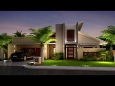 100 Ideas Fachadas Asombrosas Modernas Minimalistas ultimas tendencias 2017 2020 YouTube House front design House exterior Luxury house designs