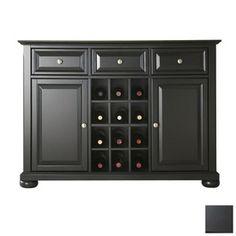 Crosley Furniture�Alexandria Black Rectangular Buffet