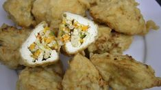 Hasil gambar untuk tahu isi Tahu Isi, Baked Potato, Cauliflower, Potatoes, Baking, Vegetables, Ethnic Recipes, Food, Cauliflowers