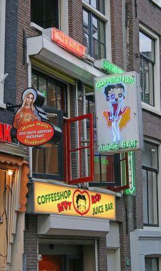 Betty Boop Coffeeshop, Amsterdam, Netherlands