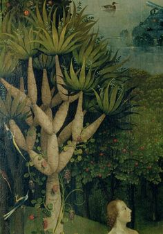 The Tree of the Knowledge of Good and Evil, Fr. the Right Panel of the Garden of…