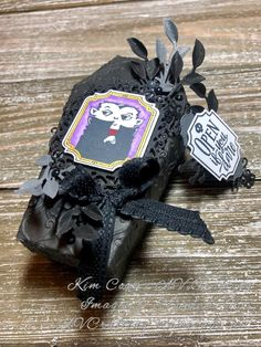 Spooktacular Bash Stamp Set, Ornate Frames Dies and Coffin Boxes