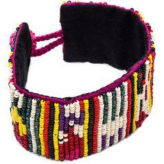 Etro Beaded Bracelet ($100) ❤ liked on Polyvore featuring jewelry, bracelets, beaded jewelry, etro, beading jewelry, etro jewelry and beaded bangles