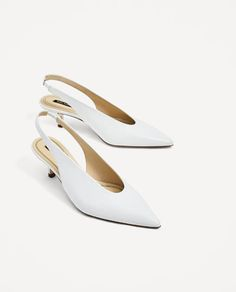 08b7e5173419 SLINGBACK LEATHER HIGH HEEL SHOES-View all-SHOES-WOMAN