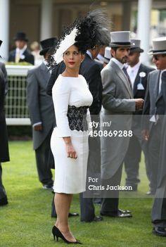 Princess Haya Bint Al Hussein Photos - Princess Haya Bint Al Hussein of Jordan attends day three of Royal Ascot at Ascot Racecourse on June 2014 in Ascot, England. - Royal Ascot: Day 3 — Part 3 Princess Haya, Royal Princess, Royal Family Pictures, Prince Crown, Queen Rania, Royal Crowns, Royal Ascot, Royal Royal, Fancy Hats
