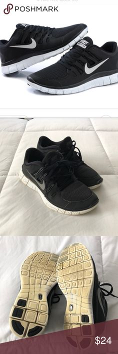 Nike Free 5.0 Black Running Sneakers
