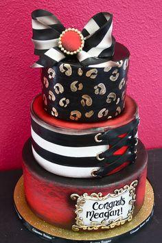 Bachelorette cake! by Gimme Some Sugar (vegas!), via Flickr