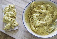 Video: Kipkerrie salade voor op brood