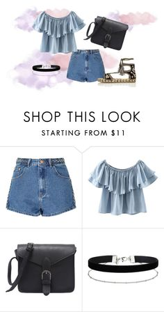 A fashion look from July 2016 featuring off the shoulder tops, blue jean shorts and black sandals. Browse and shop related looks. Miss Selfridge, River Island, Glamour, Boho, Polyvore, Image, Clothes, Fashion, Outfits