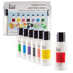 """Travel Size Lotion Kit - 7 Different Formulations - Each Addresses A Specific Problem Of Everyday Life by """"Not Soap, Radio"""" -- Awesome products selected by Anna Churchill"""