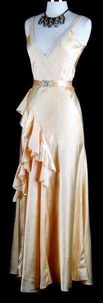 ~1930s evening dress~