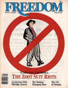 Ethics and the media: the Zoot Suit Riots.