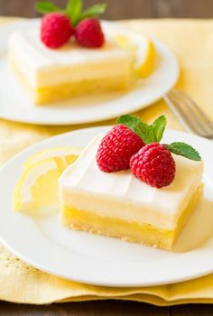Cheesecake Lemon Bars | Cooking Classy