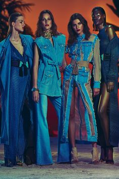 Balmain Resort 2017 Fashion Show