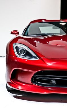 2013 SRT Viper.....a viper in this red was once my dream car, of course I wouldn't complain if I got one today either.