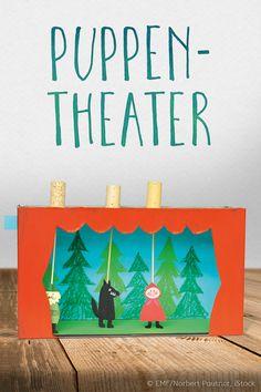 Lila-Lotta: Kasperltheater selbstgemacht. So geht's. ©EMF/Norbert Pautner