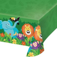Check out the deal on Jungle Safari Plastic Tablecloth at Party at Lewis. #junglepartyideas #jungleparties #junglepartythemes #junglebirthdays #junglesafariparty #junglethemepartyideas #junglethemebirthdayparty #junglethemeparties #safarijungleparty #junglebirthdaypartyideas #junglebirthdayparties #junglepartydecorations #junglebirthdaytheme #safariparty #junglesafaribirthdayparty #junglekidsparty #partyjungletheme #junglethemebirthday #babyshower  #1stbirthday #props #themepartyideas