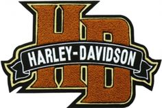 Photo of Harley Davidson HD Logo Machine Embroidery Design in 4 Sizes