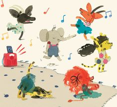 Yasmeen Ismail illo--so loose and playful, I love her style.