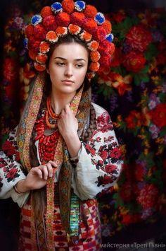 Национальная одежда украинок. Фотопроект