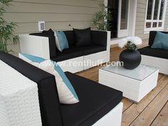 Patio Inspiration #patio #outdoorliving #inspiration #decor #decorating #design #interiordesign   www.rentfluff.com