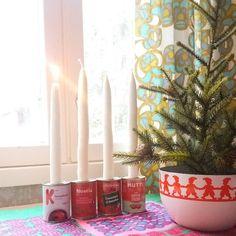 """252 Likes, 6 Comments - Minna Katri Elina 💕 (@minnakatrielina) on Instagram: """"Ihanaa ensimmäistä adventtia ❤ #adventti #adventtikynttilät #adventtikynttelikkö #askartelu…"""""""
