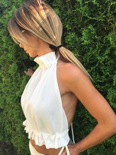 summer tops women over 40 & summer tops ; summer tops women over 40 ; summer tops for women ; summer tops women with sleeves ; summer tops for women over 50 Mode Outfits, Fashion Outfits, Diy Fashion Tops, Fashionable Outfits, Fashion Sewing, Teen Fashion, Cropped Tops, Diy Vetement, Look Girl