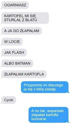 Funny Sms, Funny Text Messages, Wtf Funny, Funny Cute, Funny Texts, Love Memes, Best Memes, Polish Memes, Wtf Moments