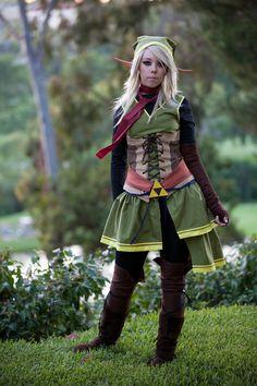 Legend of Zelda: Female Link costume
