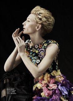 Cate Blanchett by Will Davidson for Harper's BAZAAR Australia May 2011, styled by Jillian Davison