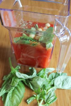 Dairy-Free Cream of Tomato Soup for a shot of lycopene, not to mention deliciousness. This recipe is made in less than 5 minutes in a high-speed blender such as a Blendtec.