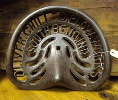Oliver Plow Works Heavy Cast IronTractor Seathttp://creameryantiquesmall.com https://www.facebook.com/CreameryAntiquesMall