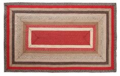 """Tacoma Jute Rug Rectanglar 60x96"""" by Victorian Heart. $164.95. All cloth items in our collections are 100% preshrunk cotton. All braided items (like rugs, baskets, etc.) are 100% jute. Extensive line of matching items and accessories available! (Search by Collection name). See Product Description below for more details!. Product measurements and additional details listed in title and/or Product Description below.. High end quality and workmanship!. Constructed ..."""