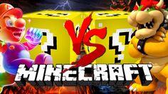 Minecraft: MARIO LUCKY BLOCK CHALLENGE   Mario Level 1!!