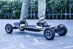 4 Four Wheels Electric Skateboard Dual Motor Max Electric Scooters Longboard Hoverboard Remote key pneumatic This is an AliExpress affiliate pin. Details on product can be viewed on AliExpress website by clicking the VISIT button Electric Scooter With Seat, Electric Bicycle, Electric Cars, Skate Longboard, Longboard Design, Hors Route, E Mobility, Scooter Design, Electric Skateboard