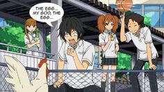 Weekly Anime Caption Competition #219:My Little Monster & Dog Days Dash