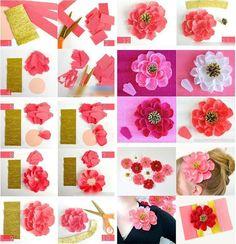 Botánica creativa: flores de papel (I) - Cultura - Juventud Rebelde - Diario de la juventud cubana