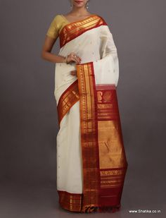 Adreja Seamless Beauty #GadwalSilkCotton #Saree