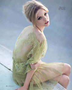 Skye Stracke by Kayt Jones for Elle Russia April 2012