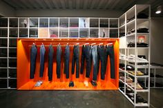 PLAC Jeans flaship store by URBANTAINER, Seoul