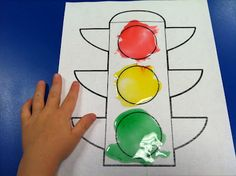 Fun Snacks 4 Kids: Edible Traffic Light Painting