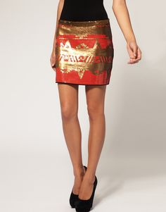 i love all of the tiny sequins! $94.00 at asos