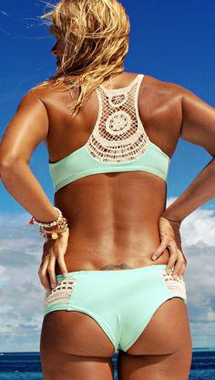Me and my new swim suit next summer.... :/ L*Space // L*Novelties Wild Child Crochet Bikini