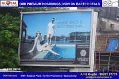 Great Barter offers on premium locations and attractive campaigns at www.globaladvertisers.in   Media : Hoarding Location : Marine Drive Hoarding Size : 30 X 20  #advertising #OOH #outdoors #media #billboards #hoarding #ads #advertisers #mumbai #marketing #promotion