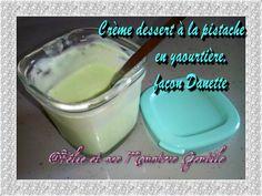 Aujourd'hui je partage avec vous ma version de la crème dessert à la pistache en yaourtière, façonDanette. On a tenté plusieurs essais avant de trouver celle qui nous convient, et j'es…