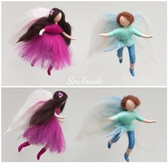 Soulmade: detsember 2016 Fairy, Wool, Christmas Ornaments, Holiday Decor, Home Decor, Xmas Ornaments, Christmas Jewelry, Christmas Ornament, Interior Design