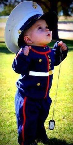 I'm gonna be a Marine someday.